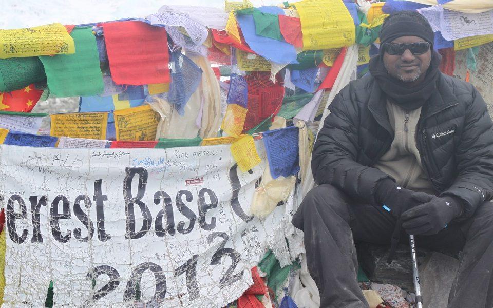 Joy @ Everest Base Camp